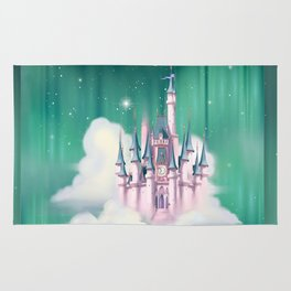 Star Castle In The Clouds Rug