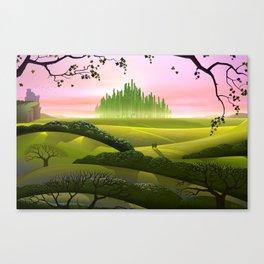 Beyond A Rainbow Canvas Print
