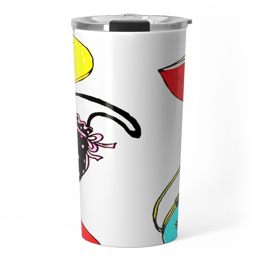 Purses Travel Mug by janetscreativecottage (TRM8538433) photo