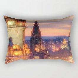 CLOCK TOWER-EDINBURGH Rectangular Pillow