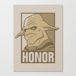 For the Honor Canvas Print