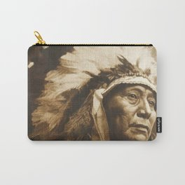 Chief Running Antelope - Native American Sioux Leader Carry-All Pouch