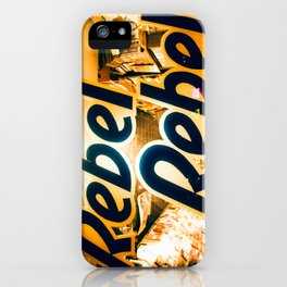Hot Tramp iPhone Case