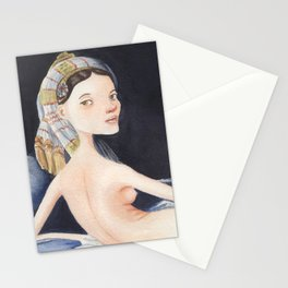 La Grande Odalisque Stationery Cards