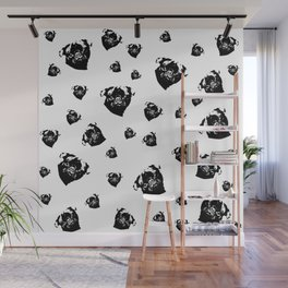 Pug Dog Gifts Wall Mural