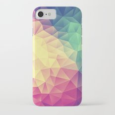 Abstract Polygon Multi Color Cubizm Painting (low poly) Slim Case iPhone 7