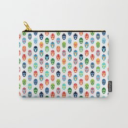 Lucha libre mask pattern Carry-All Pouch