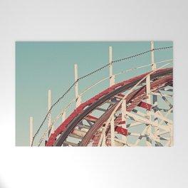 Coast - Vintage Santa Cruz Roller Coaster Welcome Mat