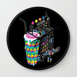 Milkshake Wall Clock