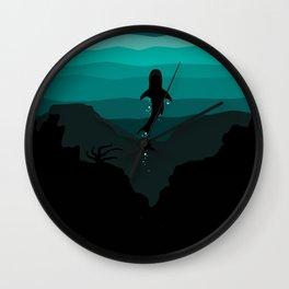 the Reef Wall Clock