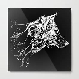 Pale Wolf Metal Print