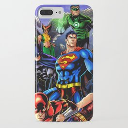 heroes all iPhone Case