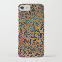 antique iPhone & iPod Cases featuring ANTIQUE PATTERN by Klara Acel