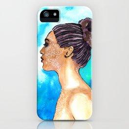 Tattoo Girl iPhone Case