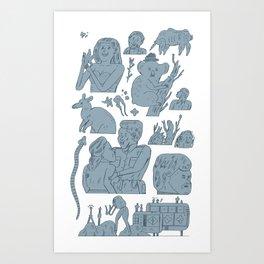 pokpok Art Print
