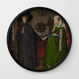 Van Eyck - Arnolfini Portrait Wall Clock