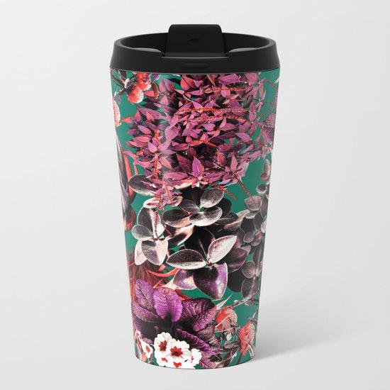 Exotic Garden III Metal Travel Mug