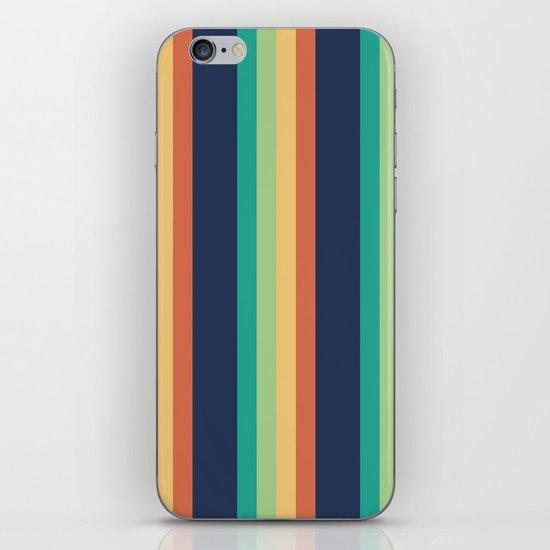 Happy Stripes iPhone & iPod Skin