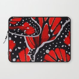 red monarch Laptop Sleeve