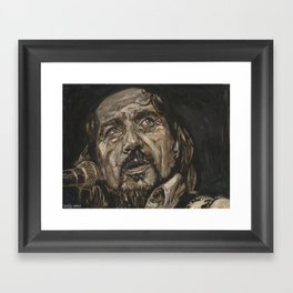Waylon Jennings Framed Art Print