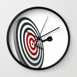 Darts logo tshirt Wall Clock