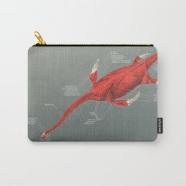 Elasmosaurus Muscle Study Carry-All Pouch