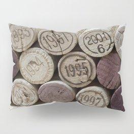 Vintage Wine Corks Pillow Sham