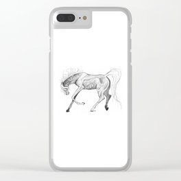 Prance Clear iPhone Case