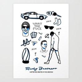 Risky Business  Art Print