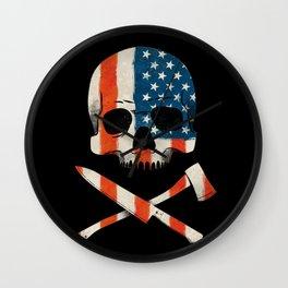 American P$ycho Wall Clock