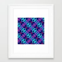 neon Framed Art Prints featuring Neon by GypsYonic