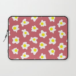 Eggs Over Red Laptop Sleeve