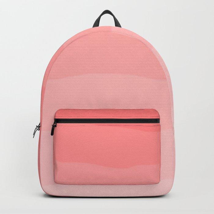 Grapefruit Blush Gradient Ombre Backpack