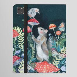 Mushroom garden iPad Folio Case