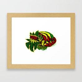 """ROYAL PROTEIN"" Framed Art Print"