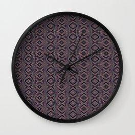 Pattern 1002 Wall Clock