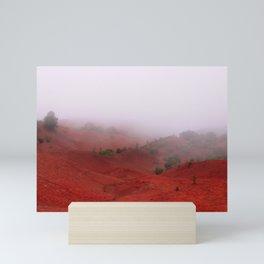 Red Land Mini Art Print