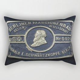 Berliner Maschinenbau Aktien-Gesellschaft Rectangular Pillow