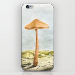 Mushland - Watercolors iPhone Skin