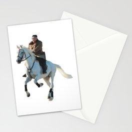 Oriental Rider Stationery Cards