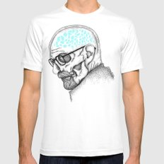 Heisenberg Mens Fitted Tee White MEDIUM