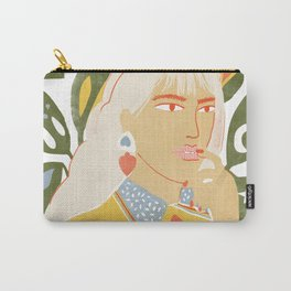 Heart on her sleeve Carry-All Pouch