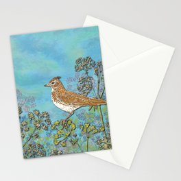 Summer Skylark Stationery Cards