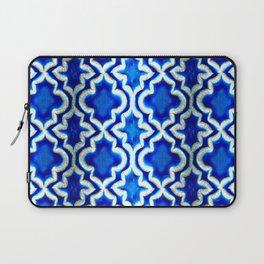 Blue Turkish Pattern Laptop Sleeve