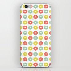Balloon Hearts iPhone Skin