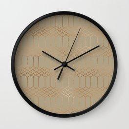 geometric vi x ii Wall Clock