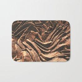 Macro Copper Abstract Bath Mat