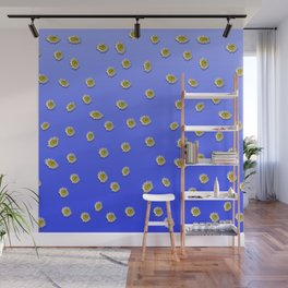 Scattered Daisies Wall Mural