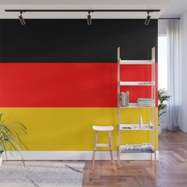 Black Red and Yellow German Flag Wall Mural