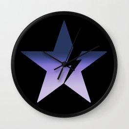 Blackstar not black Wall Clock